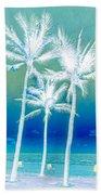 White Palms Bath Towel