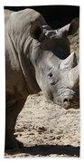 White Rhino Bath Towel