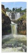 White River Falls B Bath Towel