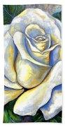 White Rose Two Bath Towel