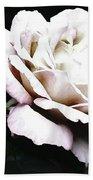White Rose,stylization Bath Towel