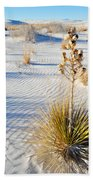 White Sands New Mexico Bath Towel