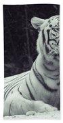 White Tiger 16 Bath Towel