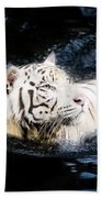 White Tiger 21 Bath Towel