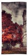 White Tower Of Autumn Bath Towel
