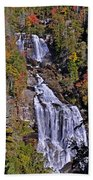 White Water Falls Bath Towel