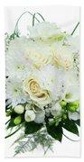 Wedding Bouquet  Bath Towel