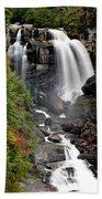 Whitewater Falls - Nc Bath Towel