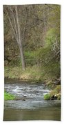 Whitewater River Spring 45 A Bath Towel