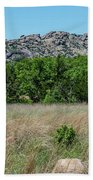 Wichita Mountains Wildlife Refuge - Oklahoma Bath Towel