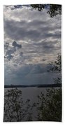View Across Wappapello Lake Bath Towel