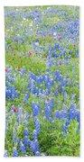 Wild About Wildflowers Of Texas. Bath Towel