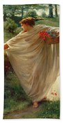 Wild Blossoms Bath Towel