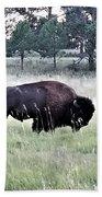 Wild Buffalo Bath Towel