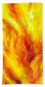 Wild Fire 03 Bath Towel