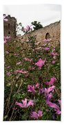 Wild Flowers At The Old Fortress Bath Towel