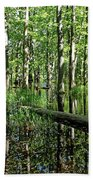 Wild Goose Woods Pond II Bath Towel