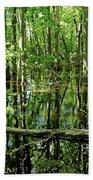 Wild Goose Woods Pond Iv Bath Towel