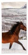Wild Horse Bath Towel