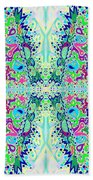 Wild Island Creation 1 Fractal B Bath Towel