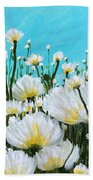Wild Poppies  Hand Towel