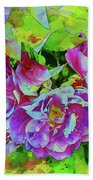 Wild Roses 3 Hand Towel