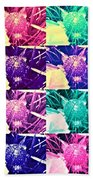 Wild Strawberry In Different Flavors Bath Towel