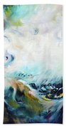 Wilderness - Abstract Bath Towel
