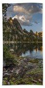 Wilderness Lake Bath Towel