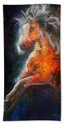 Wildfire Fire Horse Bath Towel