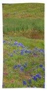 Wildflowers Along The Creek Bath Sheet