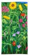Wildflowers Bath Towel