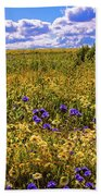 Wildflowers Of The Carrizo Plain Superbloom 2017 Bath Towel