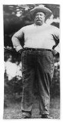 William Howard Taft Bath Towel