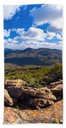 Wilpena Pound And St Mary Peak Hand Towel