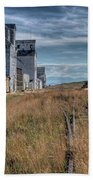 Wilsall Grain Elevators Bath Towel