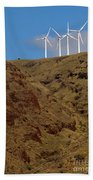 Wind Generators-signed-#0368 Bath Towel