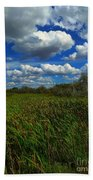 Wind In The Cattails Bath Towel