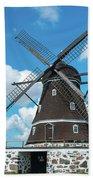 Windmill In Fleninge,sweden Bath Towel