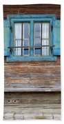 Window And Bench Bath Sheet by Yair Karelic