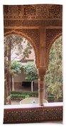 Window In La Alhambra Hand Towel