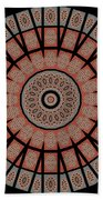 Window Mosaic - Mandala - Transparent Bath Towel