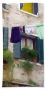 Windows Of Venice Bath Towel