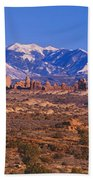 Windows Section, Arches National Park Bath Towel