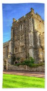 Windsor Castle Architecture Bath Towel
