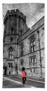 Windsor Castle Coldstream Guard Bath Towel
