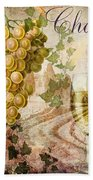 Wine Country Chablis Hand Towel