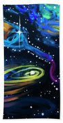 Wine Galaxy Bath Towel