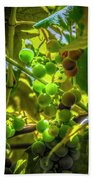 Wine On The Vine Bath Towel