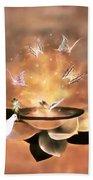 Wings Of Magic Bath Towel